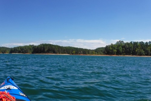 Paddling to Ghost Island in Lake Hartwell-84