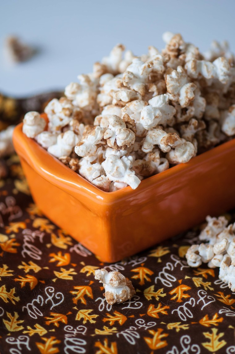 Brown Sugar Pumpkin Spice Popcorn 3