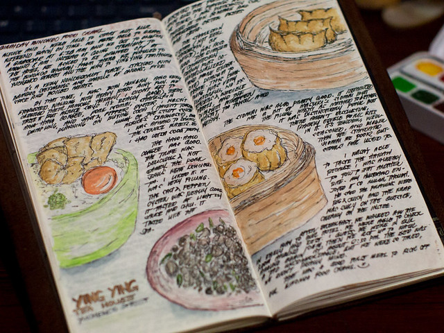 Chinatown Journal Entries