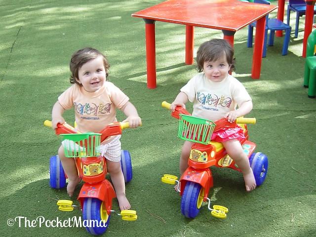 vacanze coi gemelli - baby club