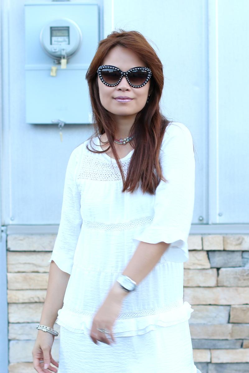 white-dress-studded-prada-sunglasses-lipsense-2