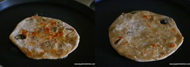 rajma cheese paratha 10
