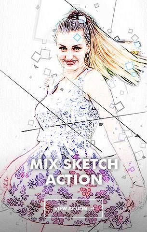 Ink Spray Photoshop Action V.1 - 113