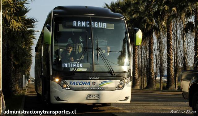 Buses Tacoha | San Vicente de Tagua Tagua | Neobus New Road N10 380 - Scania / HRXJ46 - 160 Vanidosa