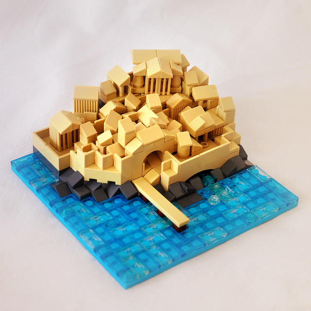 Lego Greek Port City - Micro cité grecque