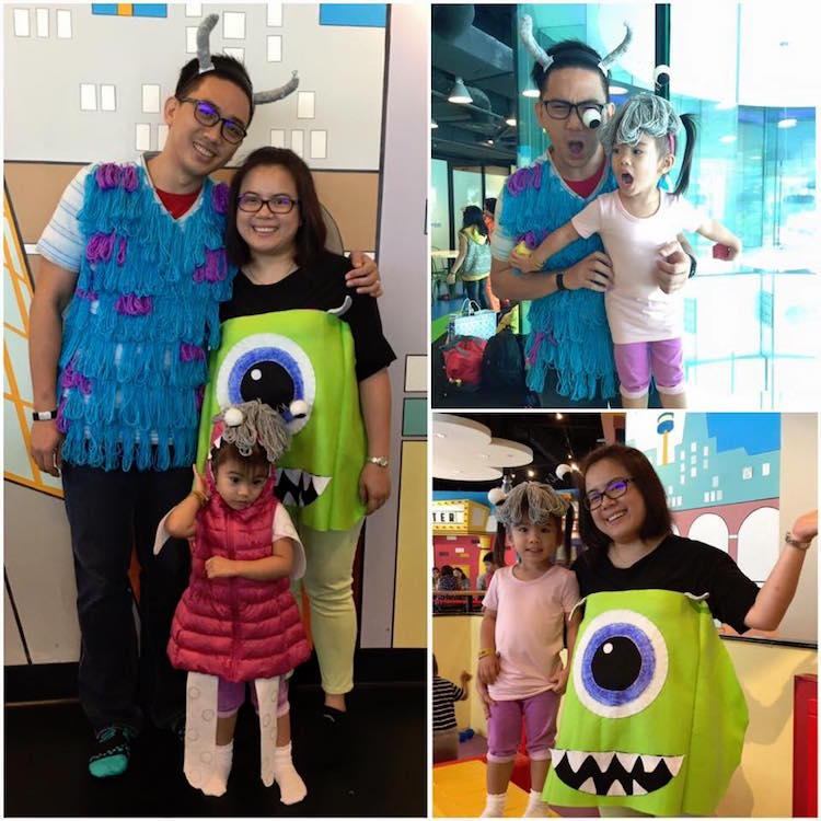 DIY Halloween Costume Monsters Inc