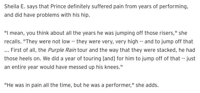 Prince pain