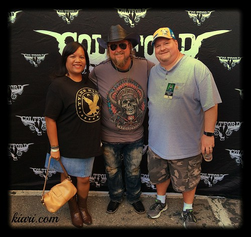 with Colt Ford