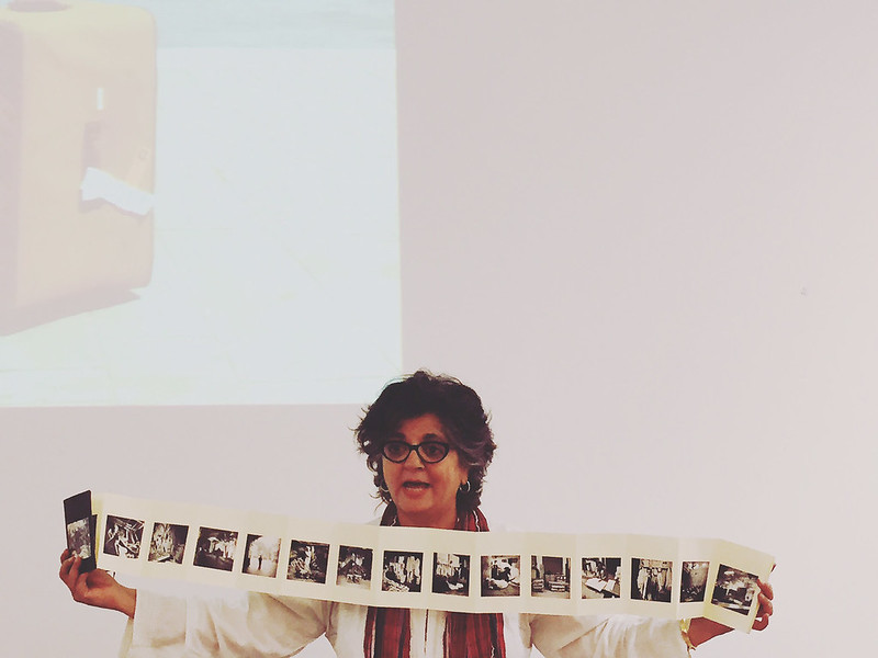 City Moment – The Magical Man Spotted at Artist Dayanita Singh's Talk, Italian Cultural Center