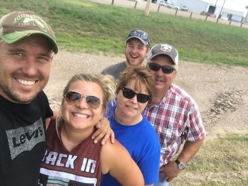 Group selfie before departure!