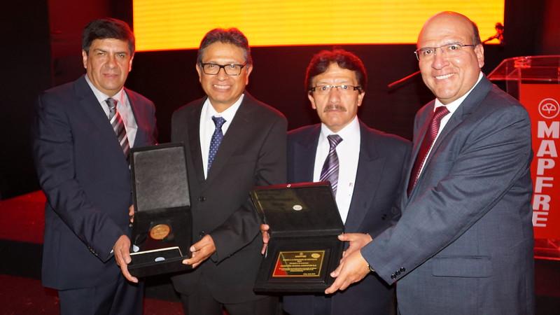 Mapfre entrega premio a la excelencia en seguridad