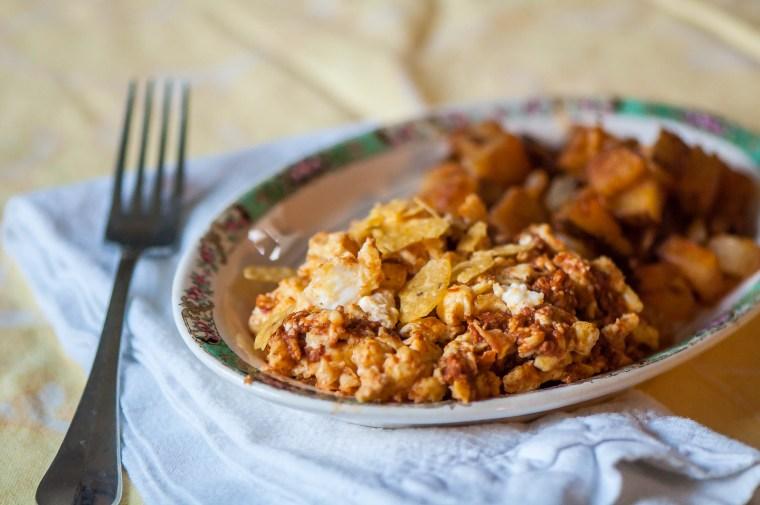 Chorizo Scramble 1