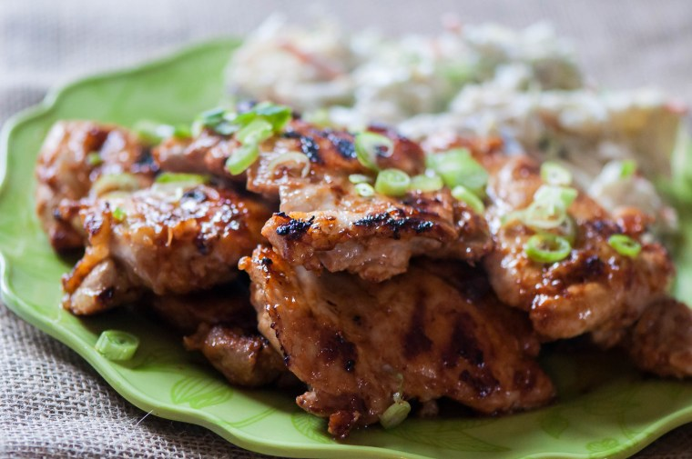 Grilled Hawaiian Chicken 1