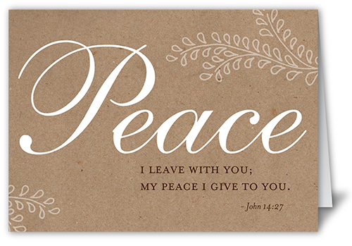 Forever Peace 5x7 Folded Card By Blonde Designs Shutterfly
