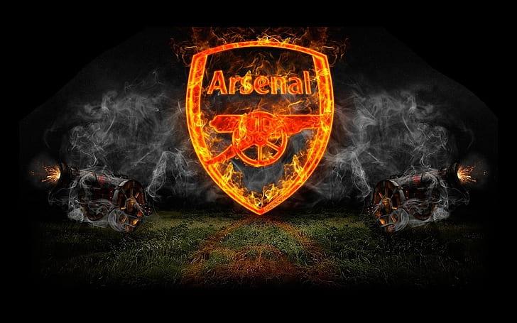 soccer fc arsenal football black