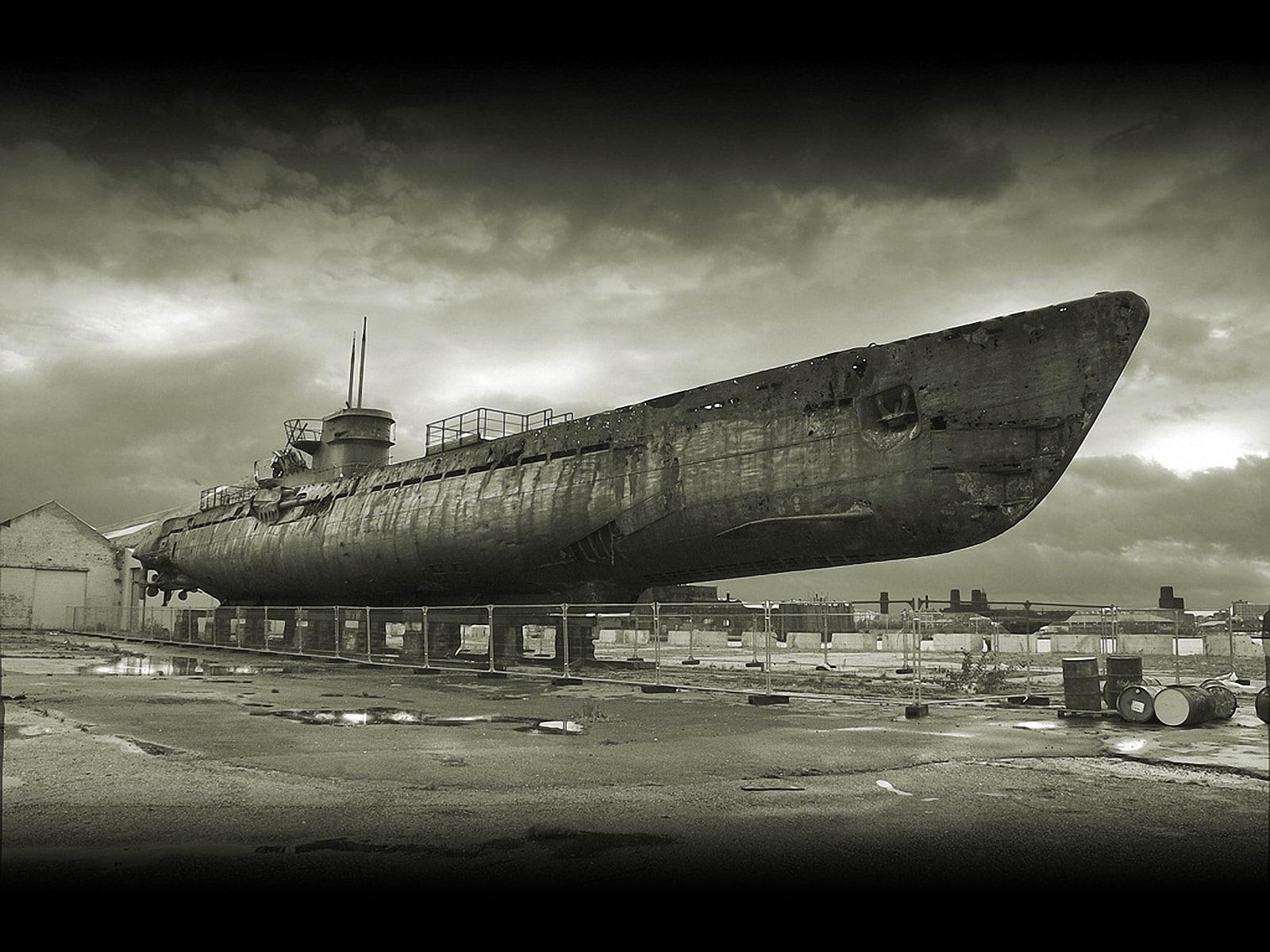 hd wallpaper: u-boat, schematic, blueprints, submarine, type