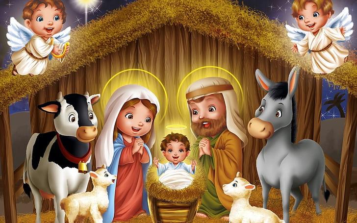 Jesus Birth 1080p 2k 4k 5k Hd Wallpapers Free Download Wallpaper Flare