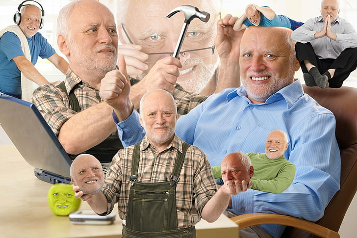 Memebase Hide The Pain Harold All Your Memes In Our Base
