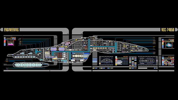 HD wallpaper: Star Trek, USS Voyager, LCARS, no people, copy space,  architecture | Wallpaper Flare