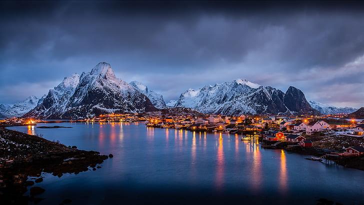 Hd Wallpaper The Magic Islands Of Lofoten Norway Europe Winter Morning Light Landscape Desktop Hd Wallpaper For Pc Tablet And Mobile 3840 2160 Wallpaper Flare