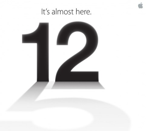 Invito presentazione iPhone 5 12 settembre
