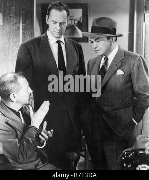 Investigación criminelle Vice Squad Year: 1953 Estados Unidos Edward G. Robinson, Porter Hall, Harlan Warde Director: Arnold - Foto de Stock