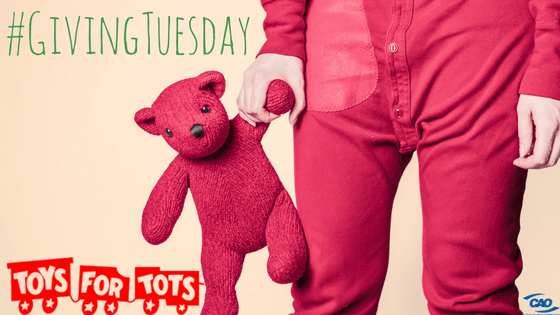 #GivingTuesday Toys for Tots