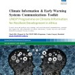 Climate Information and Early Warning Systems Communications Toolkit (UNDP 2016)