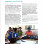 Gender in Pacific WASH 2017 (RDI Network Case Study, 2017)