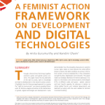 A Feminist Action Framework on Development and Digital Technologies (APC Issue Paper, 2017)