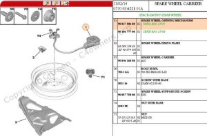 Forums  C4 Picasso (B78) General Questions  Spare wheel Carrier C4 Picasso B78  C4  DS4 Owners