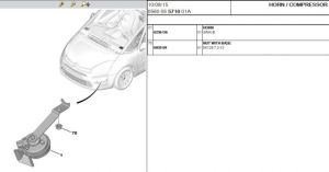 Forums  C4 Picasso and Grand C4 Picasso (B78) Problems and Issues  GC4P Horn  C4  DS4 Owners