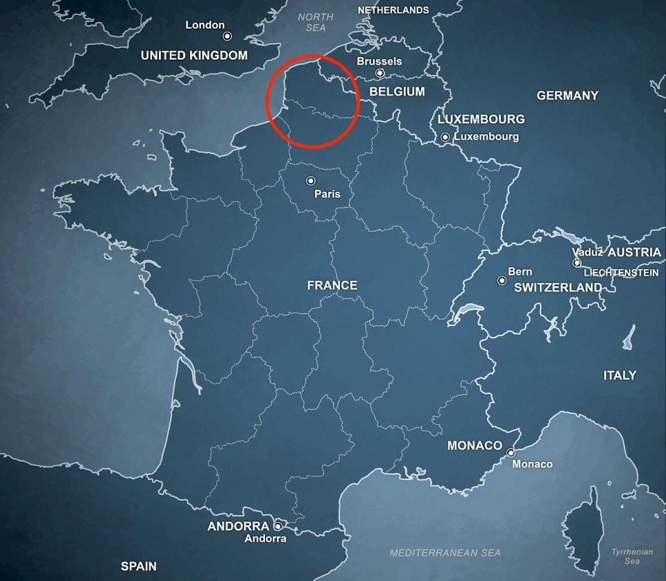 French Northern Coast, Hauts-de-France