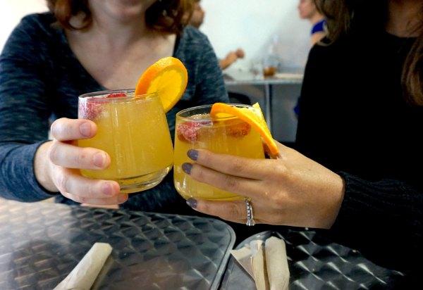 Public Kitchen Mimosas | thelittleredspoon.com