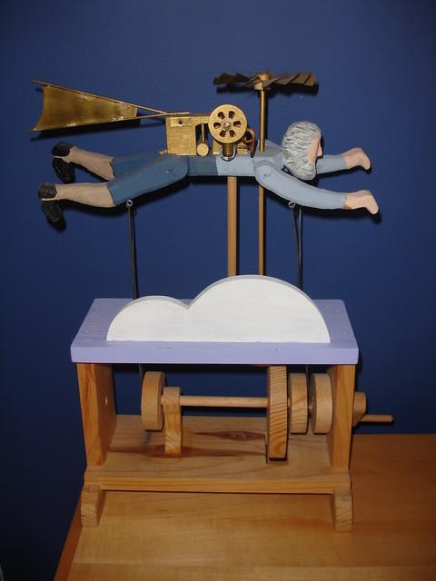 1864 Flying Spy Automata