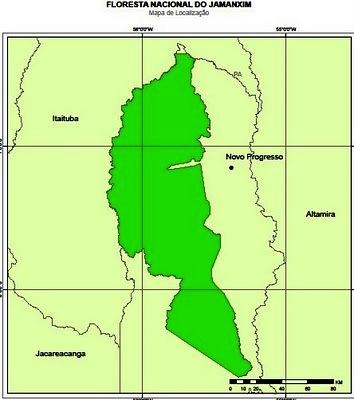 Área da flona do Jamanxim é reduzida por MP; posseiros comemoram, Flona Jamanxin
