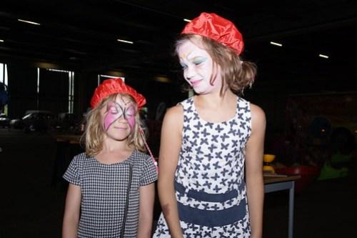 Grime tijdens kinderfietstocht West-Vlaanderens Mooiste