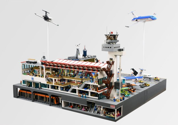 lego airport battle instructions