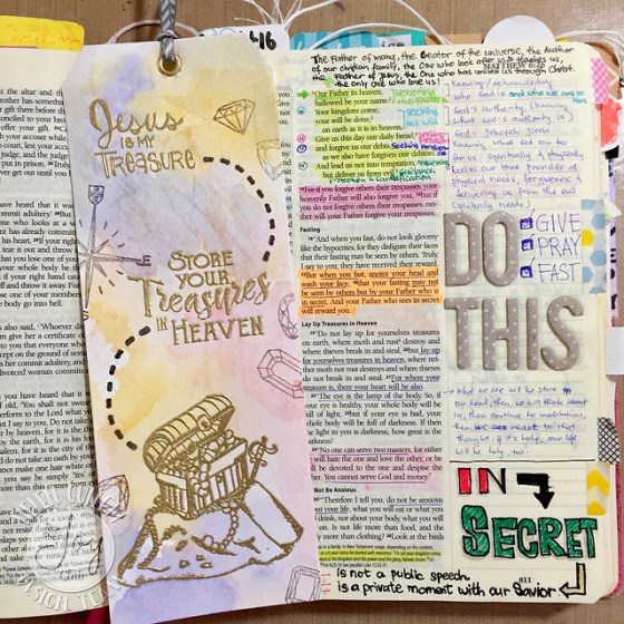 Joy Clair - Treasure Bible Journaling