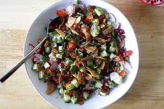 a fattoush-ish salad