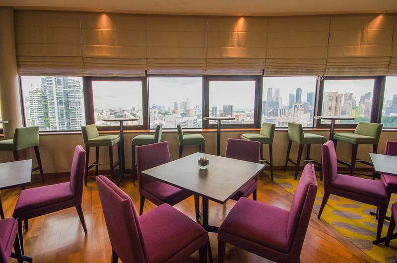 executive lounge - holiday inn singapore atrium
