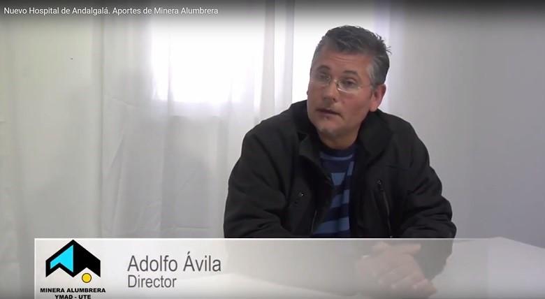 Adolfo Avila. Director. Nuevo Hospital de Andalgalá