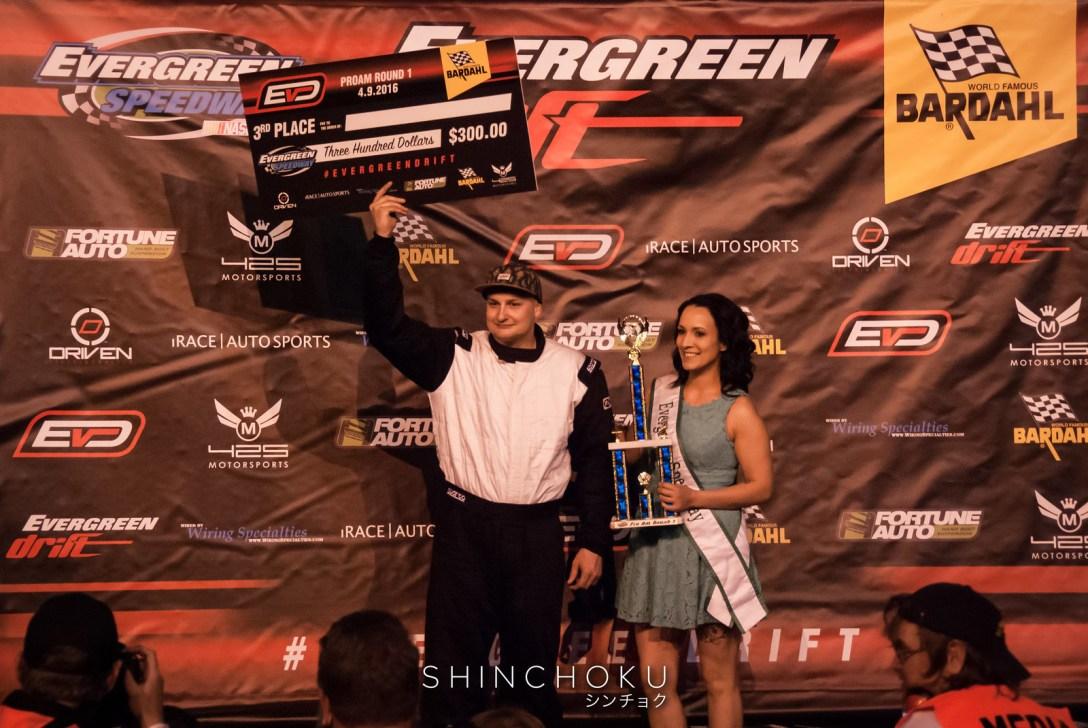 Evergreen Drift - ProAm Round 1 (4-9-16)