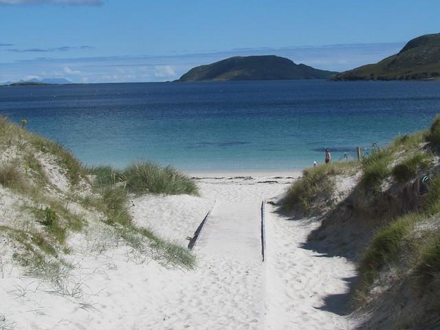 White Sand and Blue Sea