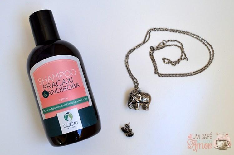 Shampoo Pracaxi & Andiroba Cativa Natureza