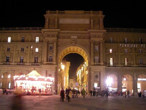 Piazza della Republica. ViajerosAlBlog.com.