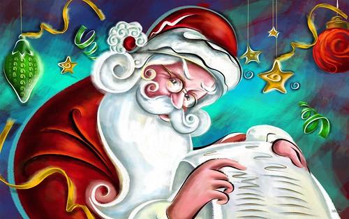 Płaczący Mikołaj
