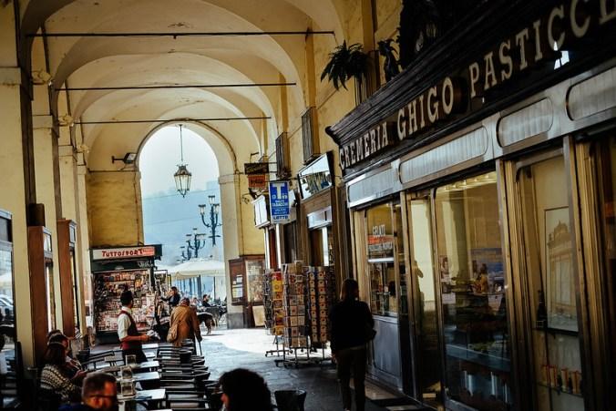Lekker eten in Turijn: Via Po