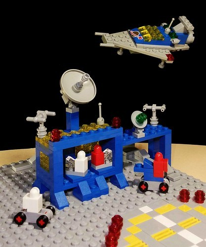 Minimized LL 918 Space Transport and 493 Space Command Center