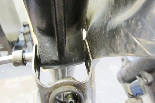 Fender Brace Brake Line Bracket Mount Details
